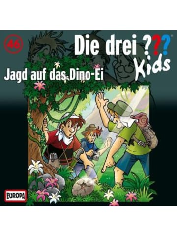 United Soft Media Die drei ???-Kids: Jagd auf das Dino-Ei, Audio-CD