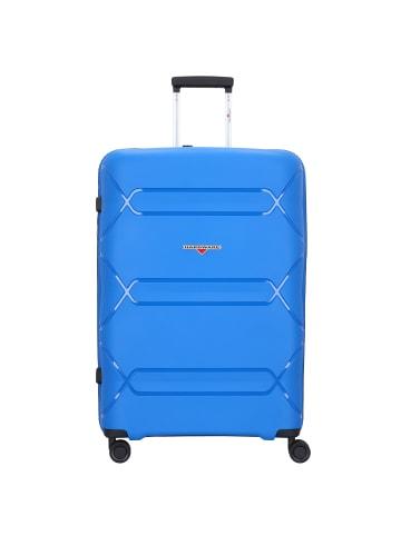 Hardware Tokyo 4-Rollen Trolley 75 cm in cobalt blue