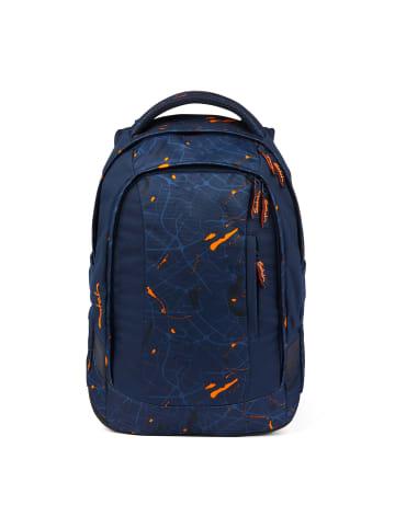 Satch sleek Schulrucksack 45 cm in dark blue orange