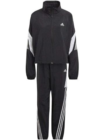 Adidas Traininganzug W Ts Wvn Gameti Set in Schwarz