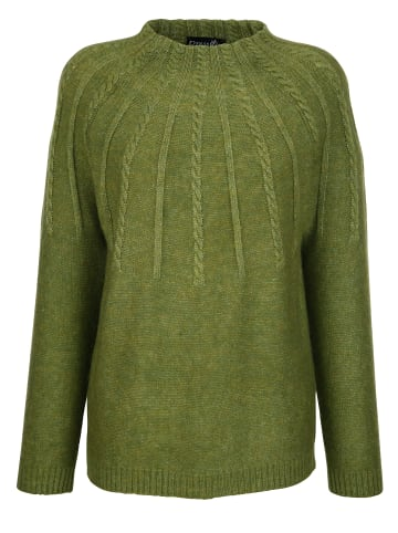 Dress In Pullover in Grün