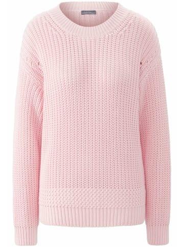 MYBC Pullover Rundhals-Pullover in rosa