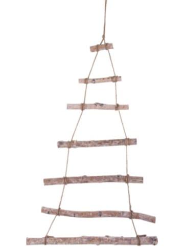 Rayher Deko Holzleiter zum Hängen, Weihnachtsbaum