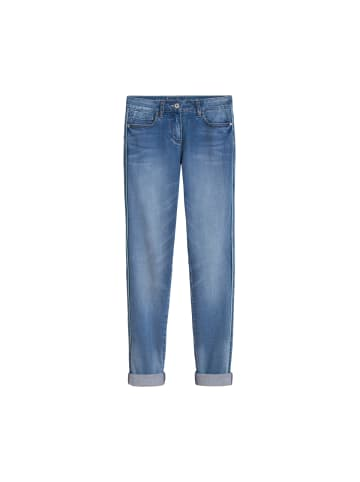 Sandwich Skinny-Jeans in Medium blue denim