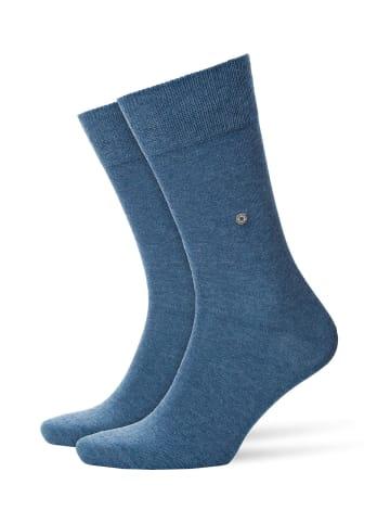 Burlington Socken 2er Pack in blau (light denim)
