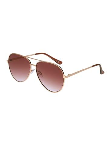 Six Sonnenbrille im Piloten-Stil in BROWN