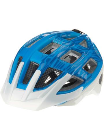 KED Fahrradhelm Kailu, blau-weiß