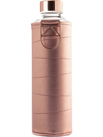 """Equa Trinkflasche """"Mismatch - Bronze"""" mit Kunstlederhülle, 750ml"""
