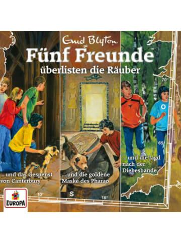 Fünf Freunde CD Fünf Freunde überlisten die Räuber, 3er Hörspiel-Box (Folgen 88/102/104)