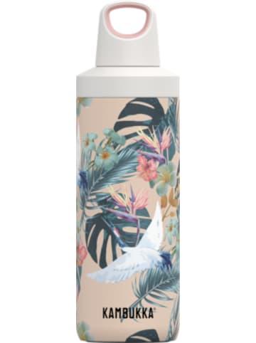 KAMBUKKA® Edelstahl-Trinkflasche RENO Twist Paradise Flower, 500 ml