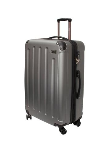 "PSNGR Koffer ""SEATTLE"" Größe L in Silber"