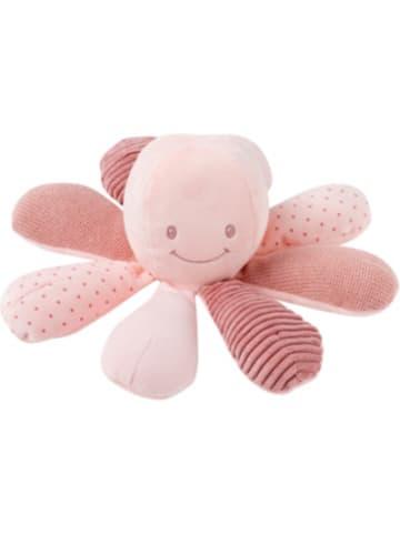 Nattou Aktivitätsspielzeug Krake, mit Sound, rosa