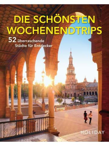 Travel House Media HOLIDAY Reisebuch: Die schönsten Wochenendtrips - 52 überraschende Städte für...