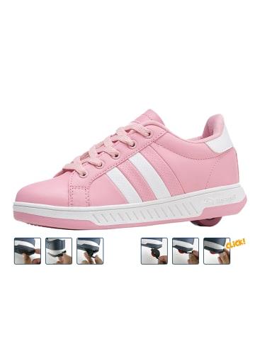 "Breezy Rollers Sneakers mit Rollen ""2176242"" in Pink/Weiß"