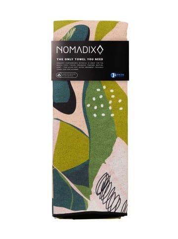 Nomadix Handtuch Towel in Monstera Green Pink