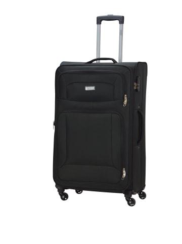 "PSNGR Koffer ""Barkley Spinner"" Größe L in Schwarz"