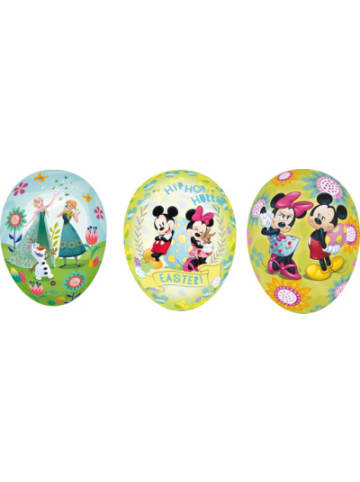 Nestler Ostereierset zum Befüllen Die Eiskönigin, Mickey & Minnie Mouse, 3 Stück,...