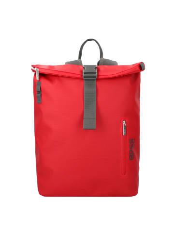 Bree Pnch 731 Rucksack 43 cm Laptopfach in red