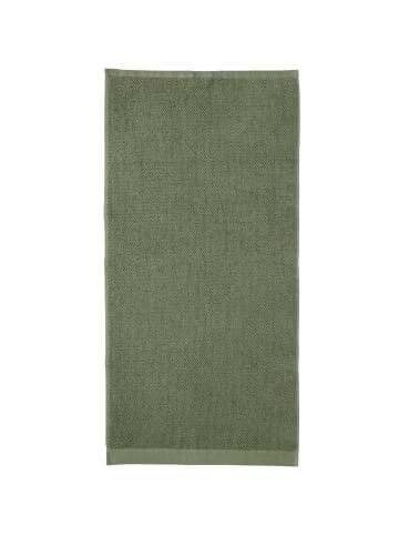 Rhomtuft Handtücher Baronesse in olive - 404