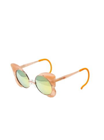ZOOBUG Retrosonnenbrille Luisa für Kinder in milk.peach