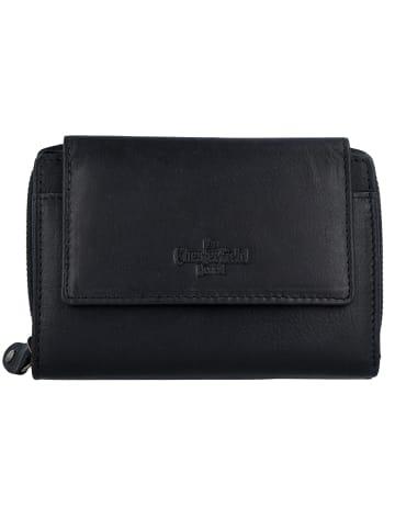 The Chesterfield Brand Ascot Geldbörse RFID Leder 13,5 cm in black