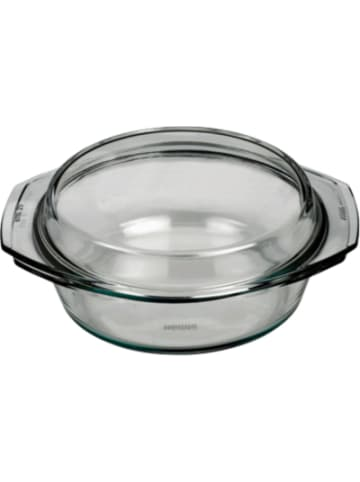BOHEMIA Selection feuerfeste Glas Schüssel mit Deckel, bis 300°C, 2,5l