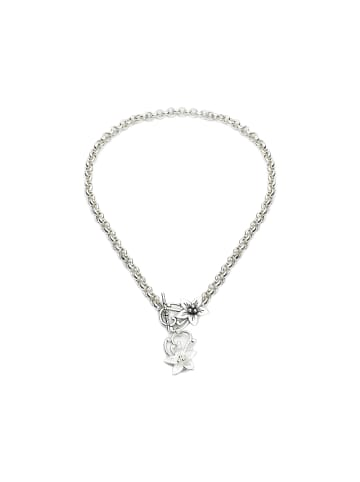 Plume Atelier Halskette Jasmin in Silber
