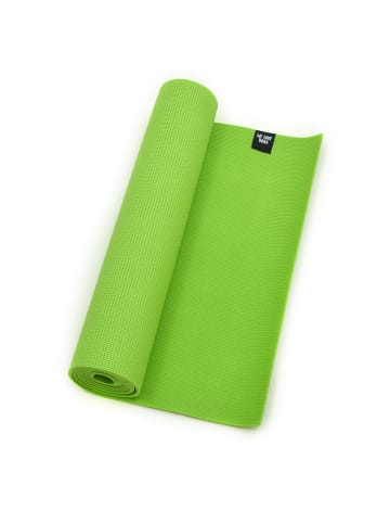 """Zenpower Yogamatte """" We Love Yoga 183x60x0,6 cm """" in grün"""