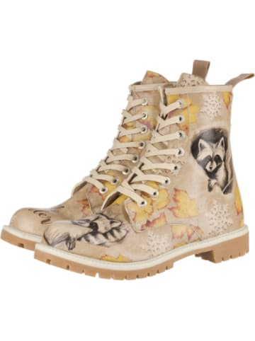 Dogo Dogo Long Boots - Raccoon Schnürstiefeletten