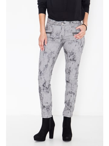 ATT Jeans ATT Jeans ATT JEANS Slim fit Jeans mit Streifen im Used-Look Leoni in gestreift