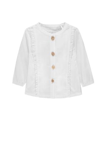 Bellybutton Bluse mit Rüschen Sweetheart in bright white