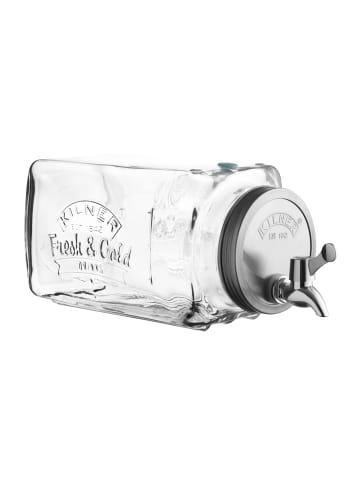 Kilner Getränkespender Kühlschrank in transparent - 3 Liter