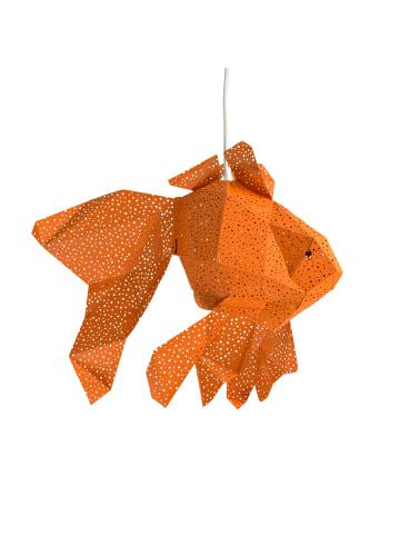 """Vasili Lights Laterne """"Fisch"""" in Orange"""