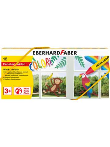 Eberhard Faber Wachsmalkreide/Fenstermaler COLORI, 12 Farben