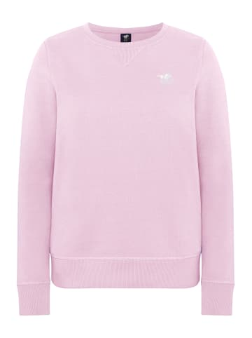 Polo Sylt Sweatshirt in Pink Lady
