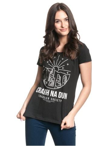 Sony T-Shirt Outlander in schwarz