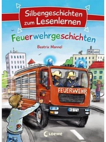 Loewe Verlag Silbengeschichten zum Lesenlernen - Feuerwehrgeschichten