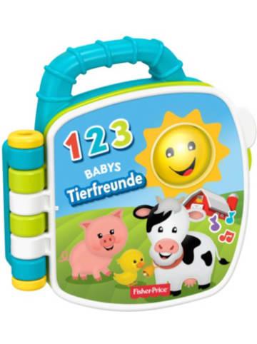 Mattel Fisher-Price Tierfreunde-Liederbuch, Baby-Spielzeug mit Musik, Lernspielzeu...