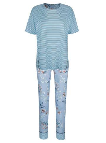 Mona Schlafanzug in Hellblau