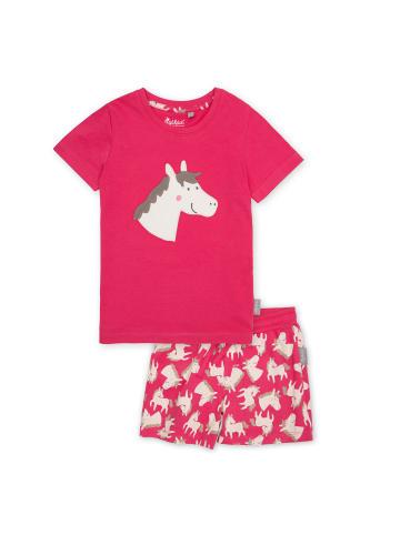 """Sigikid Pyjama """"Pferdchen"""" in Pink"""
