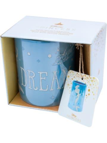 JOY TOY Disney Ariel glänzende Tasse mit Glitzermotiven