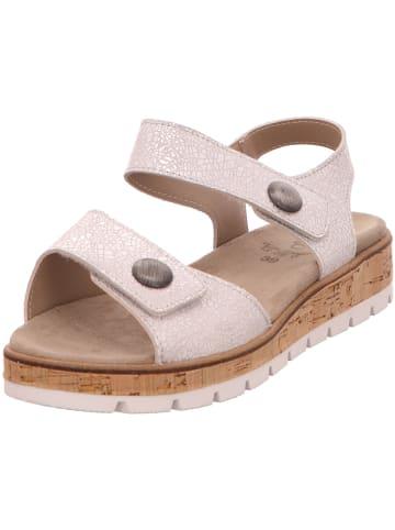 Longo Sandalen/Sandaletten in beige