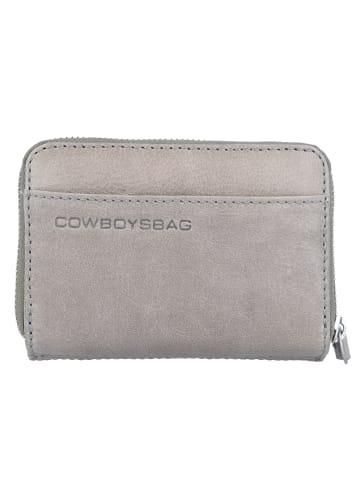 Cowboysbag Purse Haxby Geldbörse Leder 13,5 cm in elephantgrey
