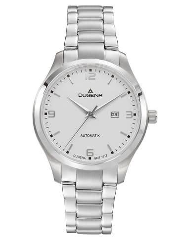 Dugena Automatik-Damenuhr Weiß / Silber