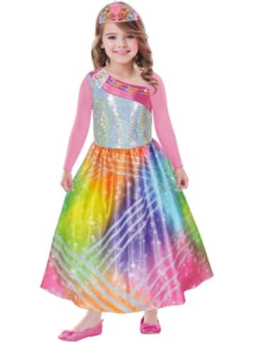 Amscan Kostüm Barbie Rainbow Magic, 2-tlg.