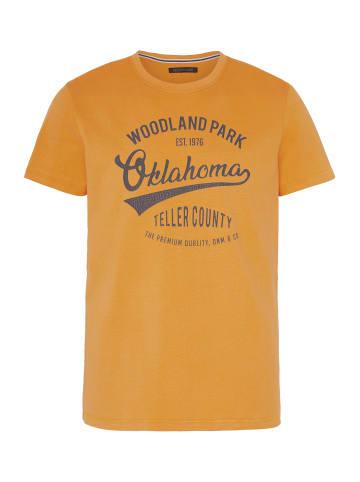 Oklahoma Premium Denim T-Shirt in Cad Yellow