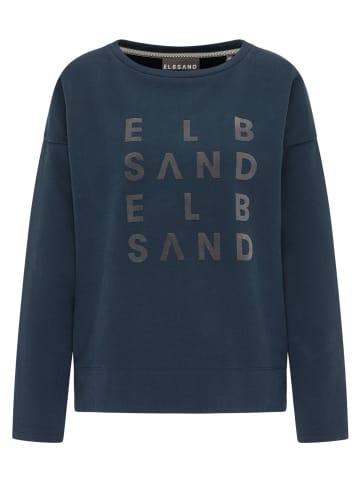 ELBSAND Shirts Langarmshirt in Dunkelblau