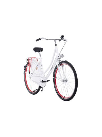 KS CYCLING Hollandrad 28'' Tussaud Singlespeed in Weiß