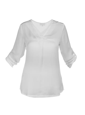 Usha WHITE LABEL Bluse in Weiss
