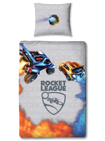 """Character World Jungen Bettwäsche-Set """"Rocket League - Autos"""" in Grau"""